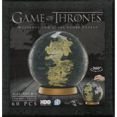 Bild av 3D Globe: Game of Thrones - Westeros and Essos, 60 bitar