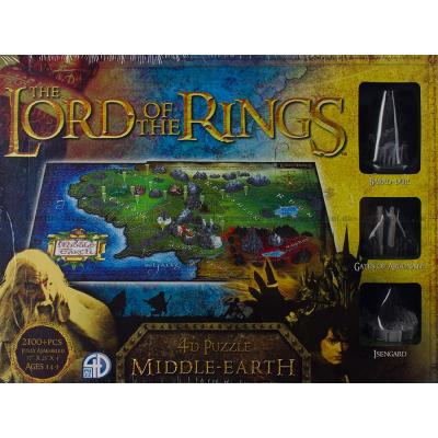 Bild av 4D: Lord of the Rings - Middle-Earth, 2100 bitar
