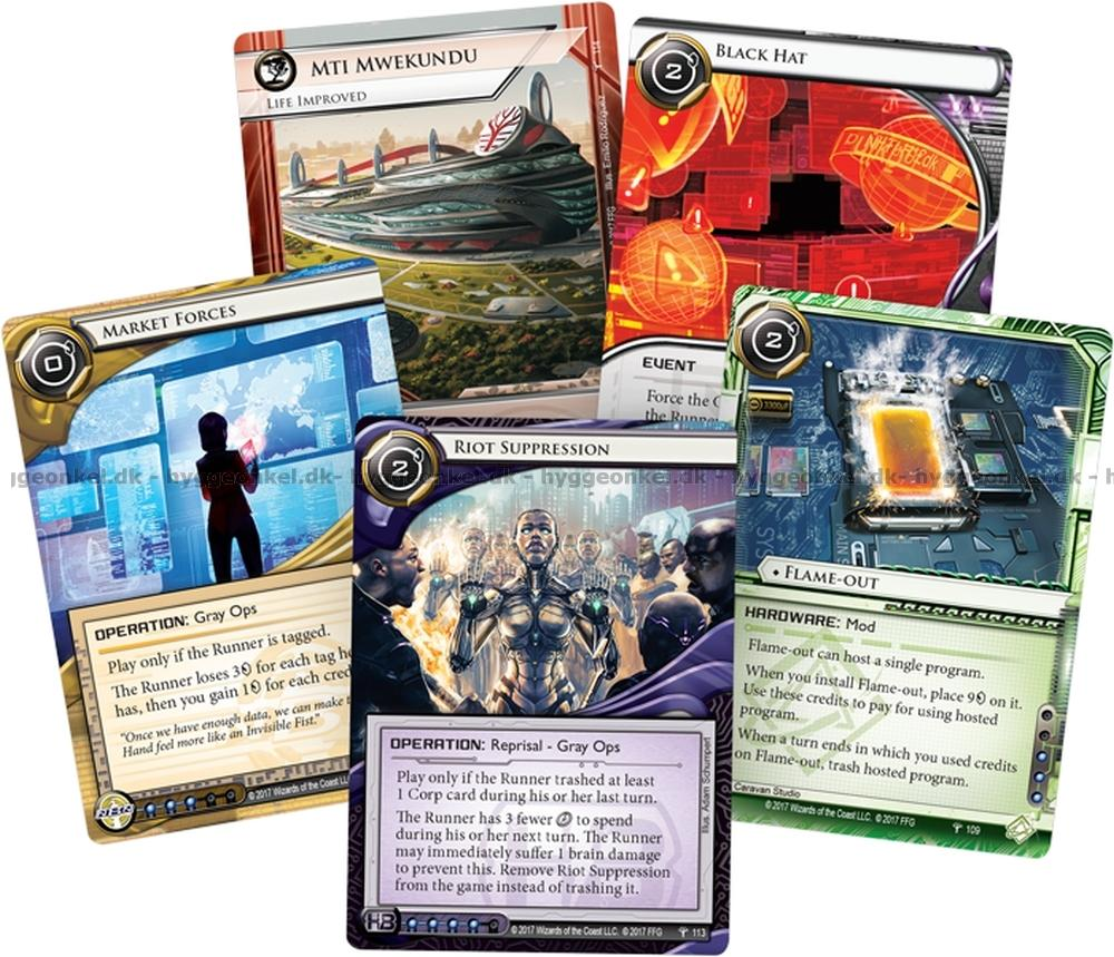 Android: Netrunner LCG: A Study in Static – Legendesque