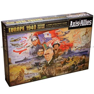 Bild av Axis & Allies Europe 1940 2nd edition sett ovanifrån