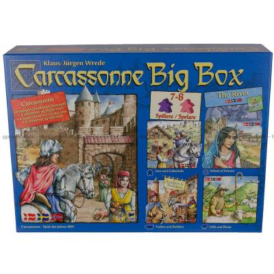 Bild av Carcassonne: Big Box - Svenska