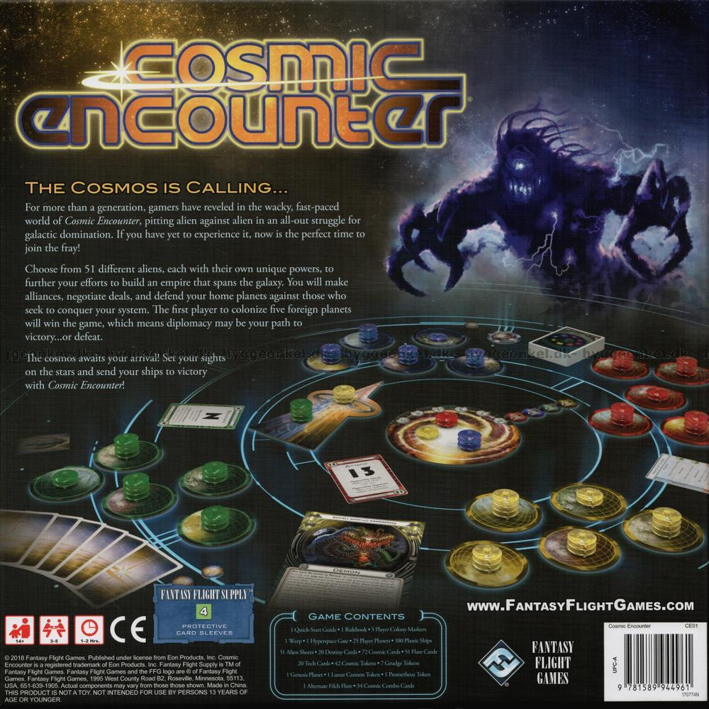 cosmic encounter 42nd anniversary edition expansions