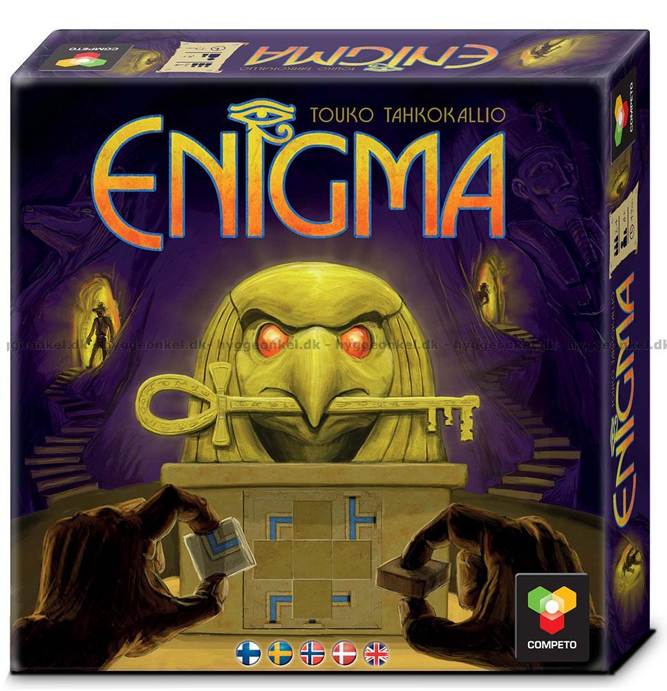 Köp Enigma brädspel! Säker och trygg e-handel a6a0401e3f32d