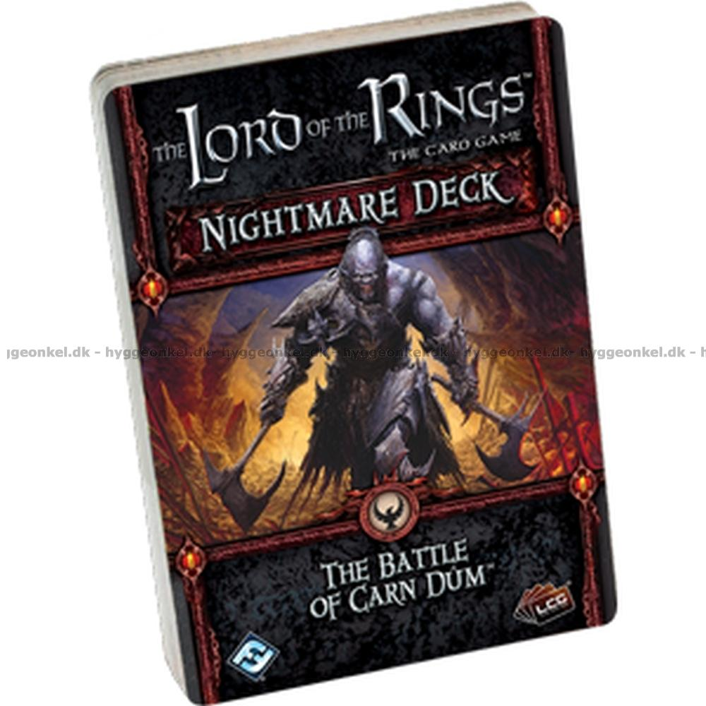 The Lord of the Rings LCG Card Game Nightmare Deck The Treason of Saruman!