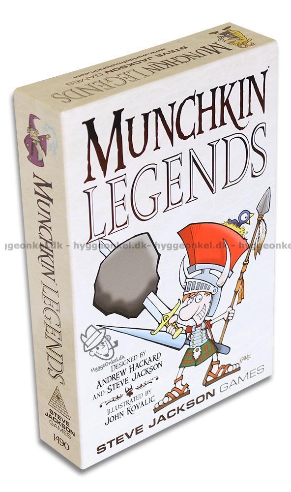 Köp Munchkin Legends - fristående spel! Trygg nätshopping 9576424b5c849