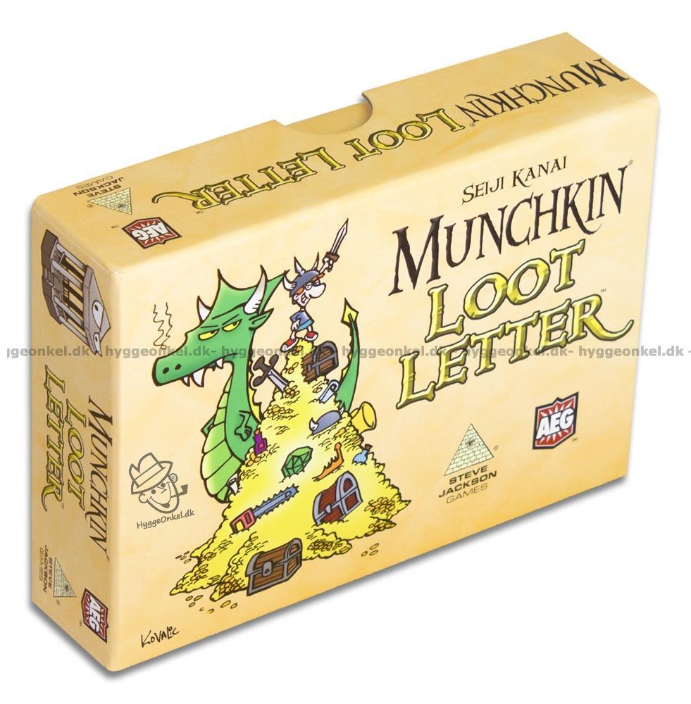 Köp Munchkin Loot Letter i dag. Trygg nätshopping UDGÅET!!! 0cb0580ab7271