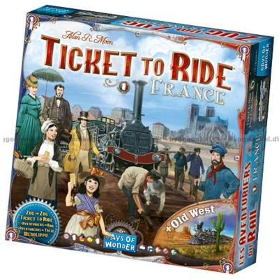 Bild av Ticket to Ride: France & Old West