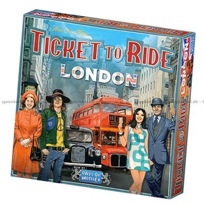 Bild av Ticket to Ride: London