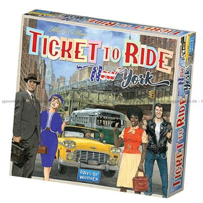 Bild av Ticket to Ride: New York - Svenska