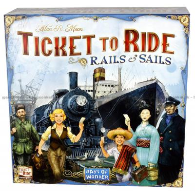 Bild av Ticket to Ride: Rails & Sails - Svenska