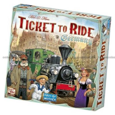 Bild av Ticket to Ride: Germany
